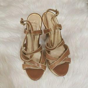 Jessica Simpson Brown Heels